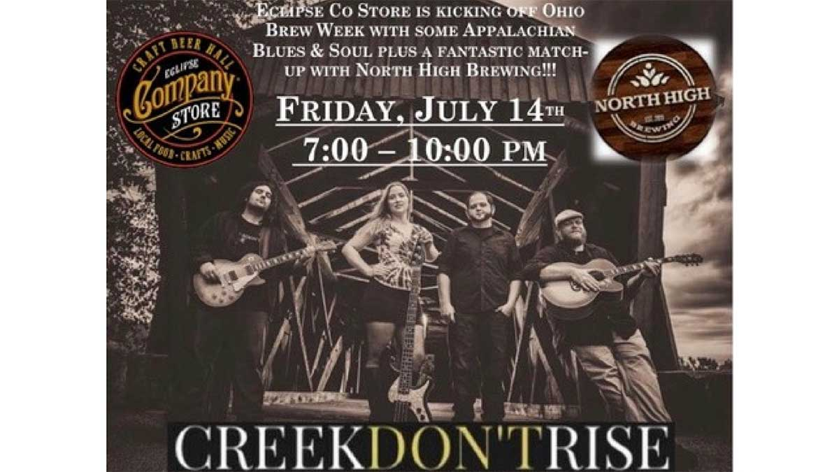 Creek Don't Rise! w/ North High Brewing