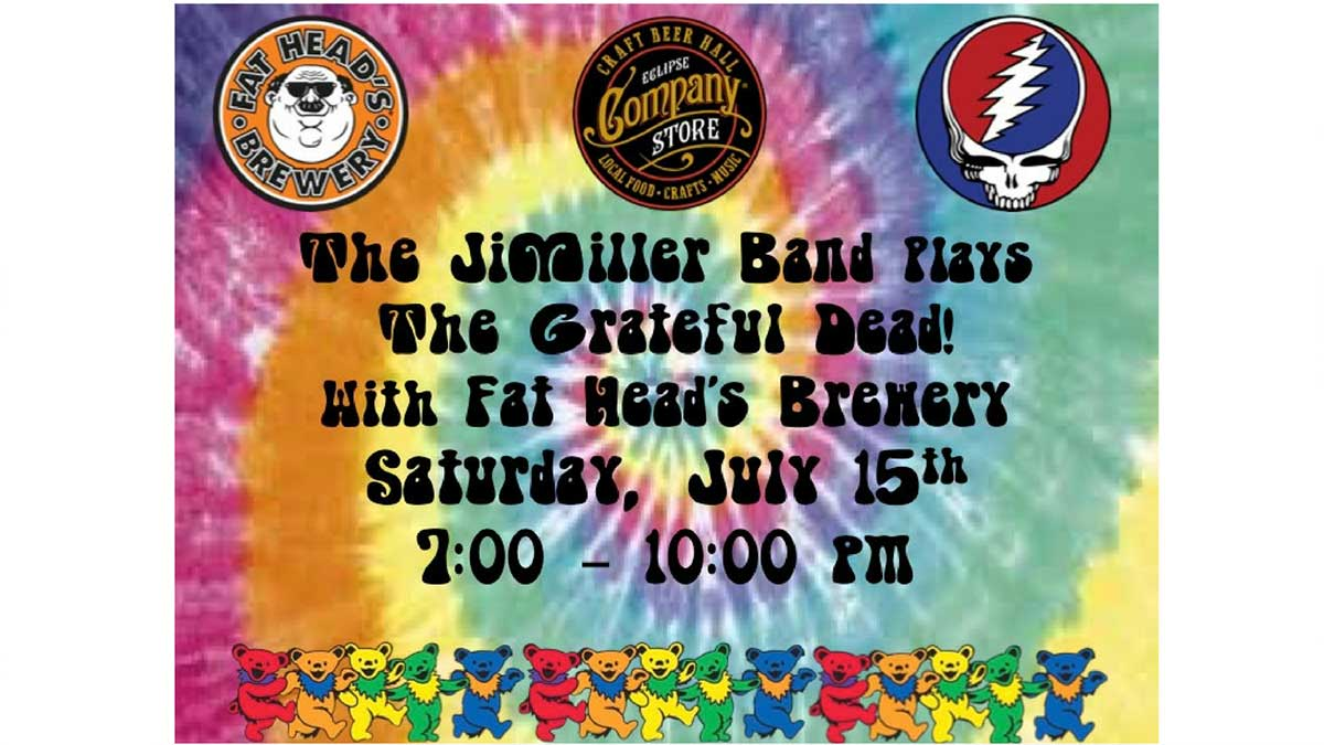 The JiMiller Band w/ Fat Head's Brewery
