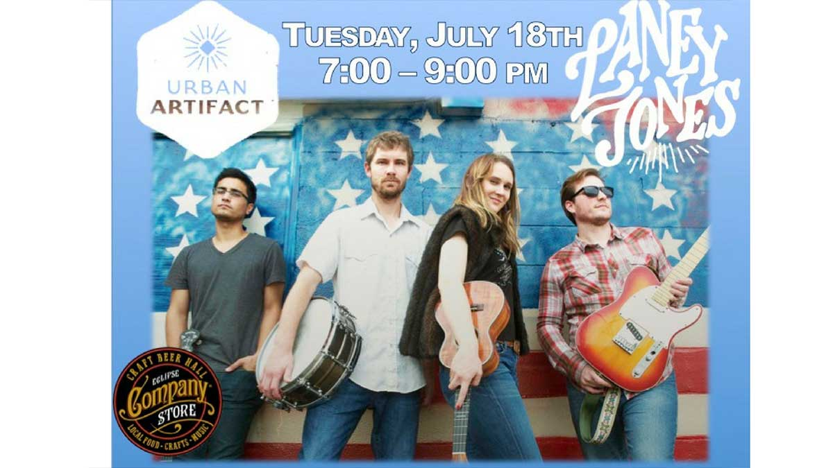 Laney Jones & The Spirits w/ Urban Artifact Brewery