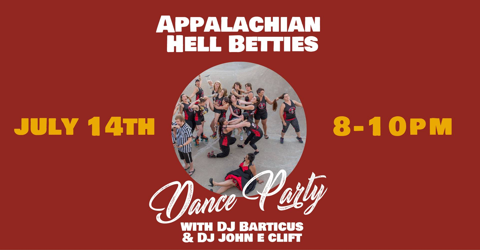 Appalachian Hell Betties Home Bout Afterparty