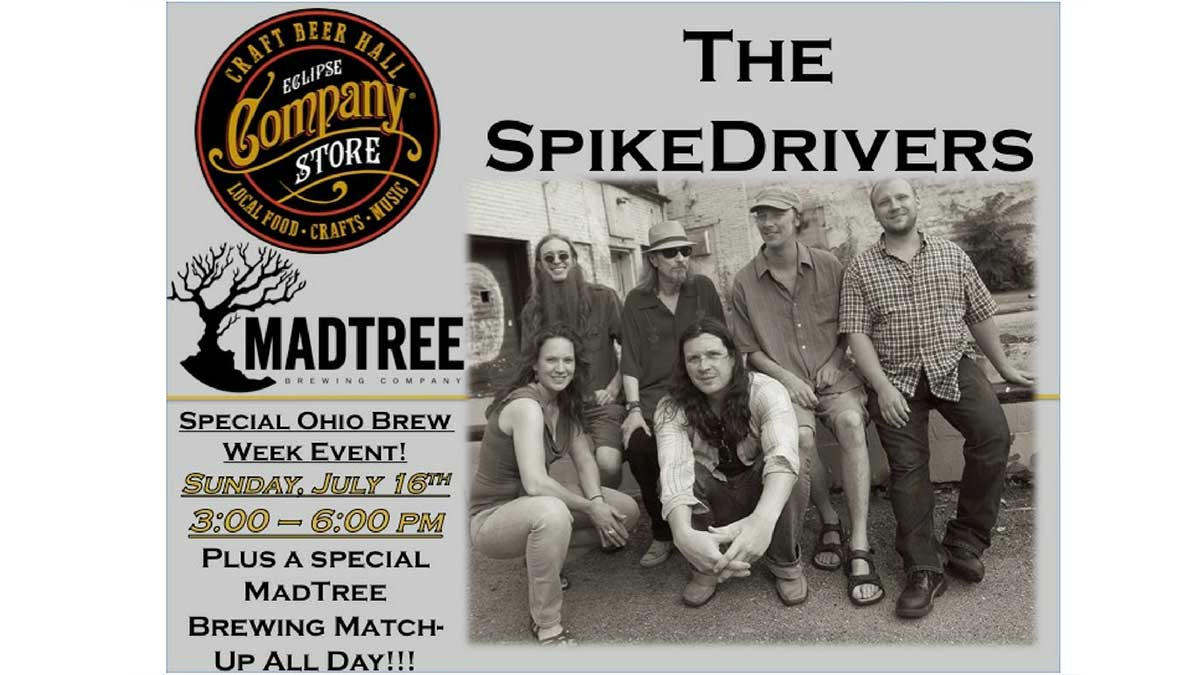 The Spikedrivers w/ MadTree Brewing