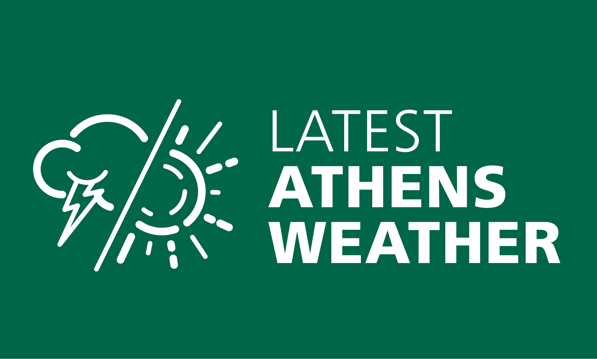 Get the most accurate current weather & forecasts for Athens!