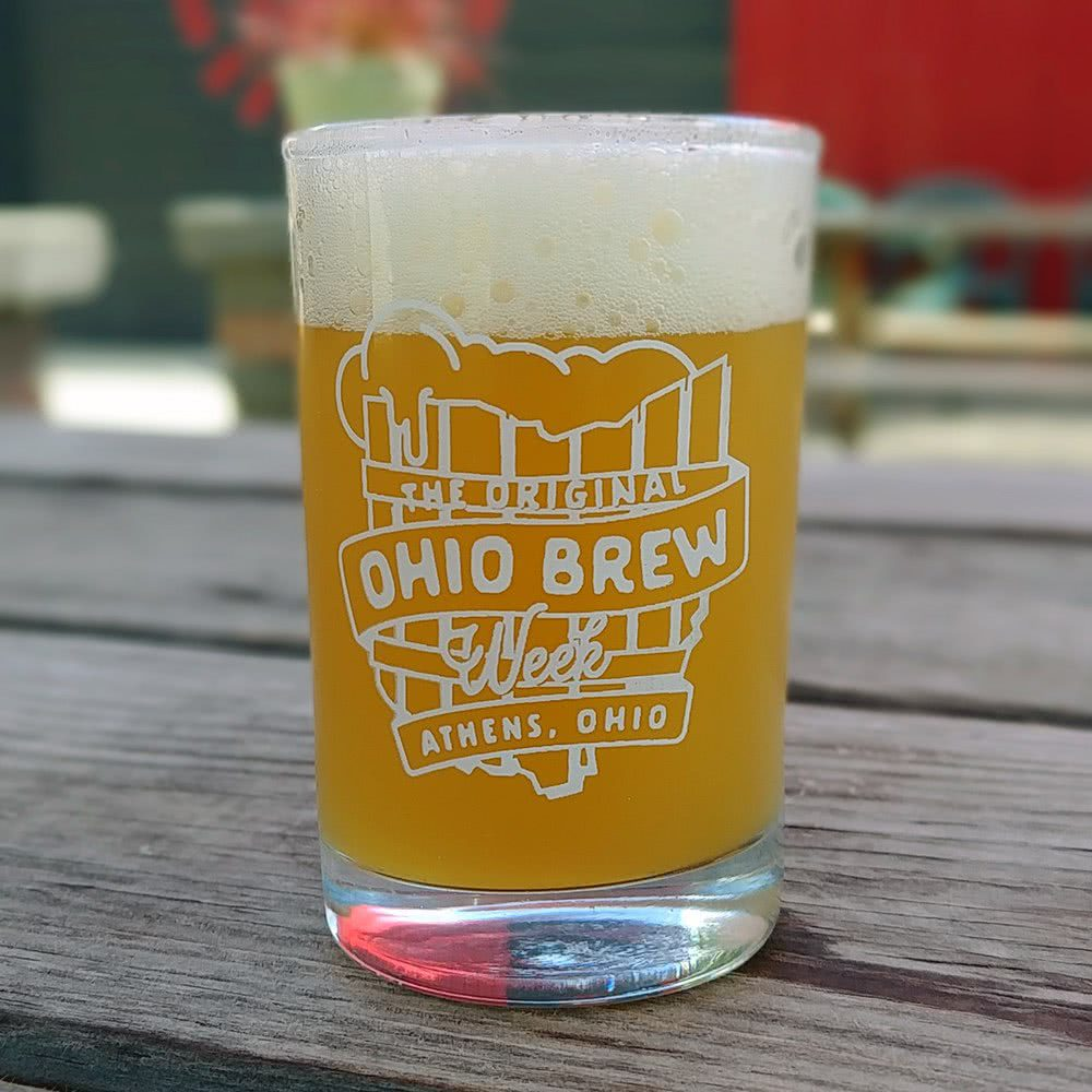 'The Original Ohio Brew Week' taster glass